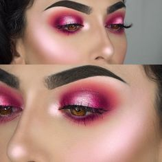 "11.9k Likes, 99 Comments - F R A N C E S C A (@littledustmua) on Instagram: ""BE MY VALENTINE This look was inspired by @nikkietutorials Products used: Eyes with…"""