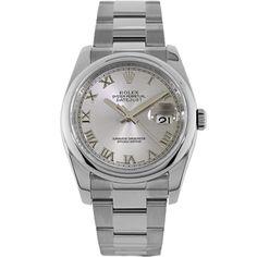 Rolex Stainless Steel Unisex Automatic Watch 116200 - Watches   Portero Luxury