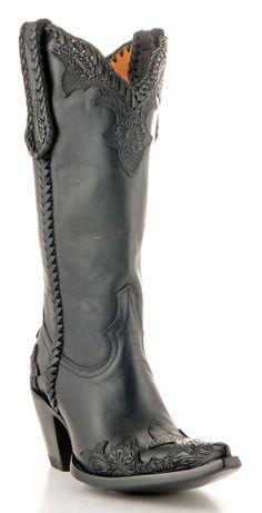 Womens Old Gringo Julian Boots Black #L551-2