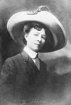 Laura Stockton Starcher, who was elected mayor of the town of Umatilla, Oregon on December 5, 1916. She defeated the incumbent, her husband E. E. Starcher, by a vote of twenty-six to eight, with write-in votes    In addition to Laura Starcher, Umatilla voters also elected women to take over four town council seats and the posts of recorder and treasurer. Only two men retained elective office as town councilors.