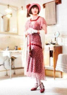 """Essie Davis as """"Phryne"""" ~ Miss Fisher's Murder Mysteries"""