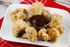Baked Cauliflower Bites Recipe - 2 Points + - LaaLoosh