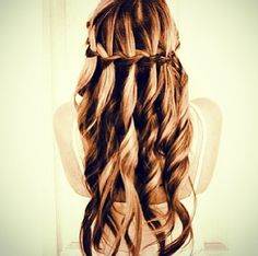 possible hairstyle for the navy ball