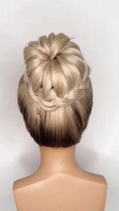 Elegant Hairstyles, Bun Hairstyles For Long Hair, Bride Hairstyles, Casual Hair Updos, Casual Hairstyles, Cute Hairstyles, Ballet Hairstyles, Hair Movie, Hair Up Styles