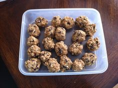 Valley Ridge Recipes: Healthy Peanut Butter and Chocolate No Bakes