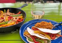 Based on some of our guest's favorite trip recipes, we compiled a weekend camping meal plan. If you like to eat well, this menu shouldn't disappoint. Camping Meal Planning, Camping Meals, Spanish Rice, Dessert For Dinner, Stick Of Butter, Stuffed Green Peppers, Fajitas, Appetizers, Yummy Food
