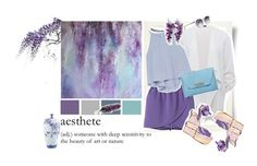"""Wisteria tree"" by beachan on Polyvore"