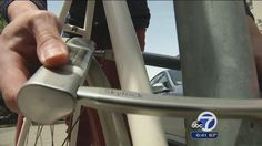 Hi-tech bike lock offers theft alerts, crash assistance to bike owners