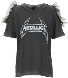 """""""Metallica""""-T-Shirt mit Tüll von And Finally"""