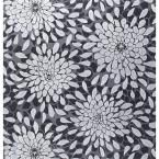 The Wallpaper Company 56 sq. ft. Coral and Fushia Large Floral Trail Wallpaper-WC1280100 at The Home Depot