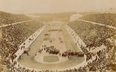 Athens hosted the first modern Olympic games in the Panathenaic Stadium in 1896