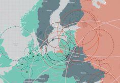 Západní tisk je šokován mapou raketových systémů NATO a Ruska