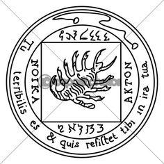 Ancient Occult Symbols | Occult ancient magic symbol. A vector element. — Stock Vector ...