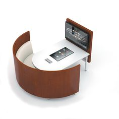 Useful for libraries, meeting rooms, training centers, student unions, and common areas, Elements Media with T1Visions Interactive Touch-screen Table enables teams to connect, share, and learn using an intuitive, multitouch user interface.