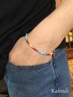 Simple Bracelets, Cute Bracelets, Handmade Bracelets, Country Jewelry, Western Jewelry, Seed Bead Necklace, Seed Bead Bracelets, Diy Jewelry Rings, Beaded Jewelry