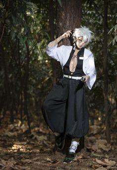 Sanemi Shinazugawa Demon Slayer Kimetsu no Yaiba Cosplay Costume : Get cosplay in our etsy shop Cosplay Anime, Epic Cosplay, Male Cosplay, Amazing Cosplay, Cosplay Outfits, Cosplay Costumes, Slayer Meme, Demon Slayer, Cosplay Characters