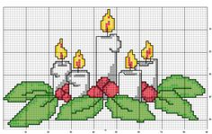 Cross Stitch Owl, Cross Stitch Cards, Cross Stitch Flowers, Counted Cross Stitch Patterns, Cross Stitch Designs, Cross Stitch Embroidery, Christmas Charts, Christmas Cross, Filet Crochet Charts
