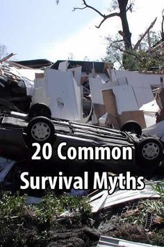 Many survival myths either begin with and are perpetuated by unrealistic movies. They make for great entertainment, but they also give people bad ideas.