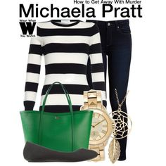 Inspired by Aja Naomi King as Michaela Pratt on How to Get Away With Murder - Shopping info!