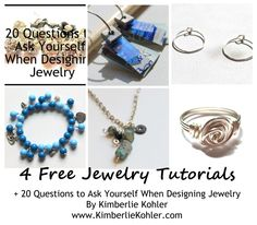 Everything you need to get started making jewelry eBook download - TOTALLY FREE!  #diy