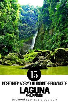 15 Incredible Places You'll Find in the Province of Laguna, Philippines  Laguna is a beautiful province located in the CALABARZON region in Luzon, Philippines. If you are coming from Manila, it will take you an hour and a half to reach the heart of the pr