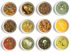Maybe one day I'll be a grown up and cook healthier. I llike Mark Bittman, and this is his Vegetable Soup Matrix