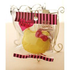 *Rare* Hello Kitty Cafe Yellow Macaron Squishy Mascot