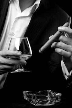 Cigar & Cognac.
