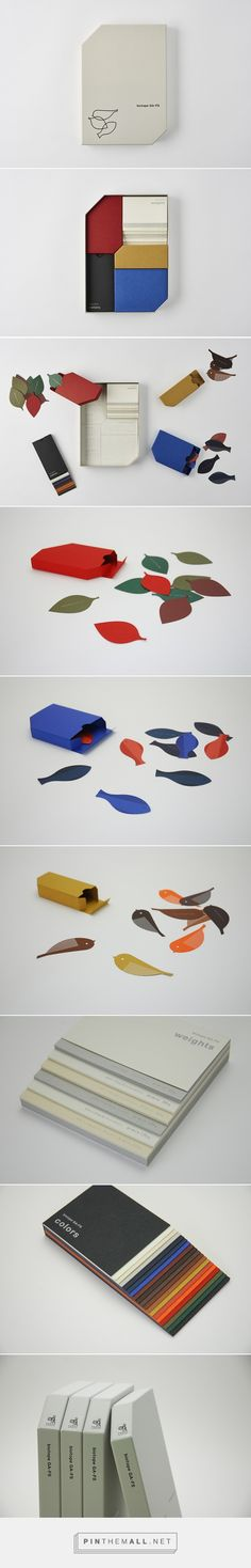 BIOTOPE by DRILL DESIGN curated by Packaging Diva PD. Clever box of stationery and accessories.