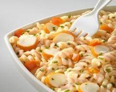 Salade de pâtes au surimi rapide Ingrédients