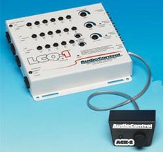 WHITE COLOR Powerful six-channel signal processor (REMOTE PICTURED IS OPTIONAL)