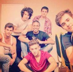 The boys: Diego, Xabi, Samuca, Facu, Ruggero, Jorge