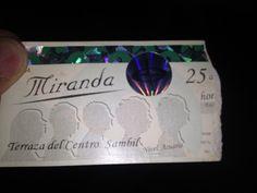 25/03/2006: Entrada al concierto de Miranda! durante su primera presentación en Venezuela.