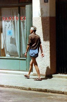 Samuel Beckett in Tangier.  photos by François-Marie Banier