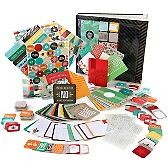 Project Life Just Add Color Complete Scrapbook Kit