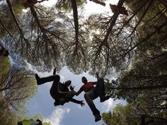 Parco Avventura Monti Rossi #GreenWhereabouts #parco #avventura #sicilia #parcoavventura #natura #alberi