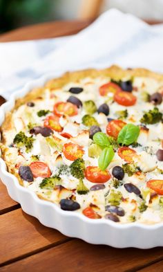 Kasvis-fetapiirakka | Maku My Recipes, Diet Recipes, Vegan Recipes, Cooking Recipes, Favorite Recipes, Keto Results, Just Eat It, Brunch Party, Ketogenic Recipes