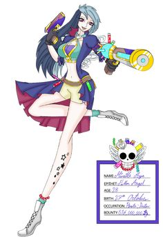Mireille Aya NEW by Chaoussu on DeviantArt One Piece Crew, Jotaro Kujo, Cyberpunk Art, Chica Anime Manga, Pirates, Character Art, Deviantart, Fantasy, Story Ideas