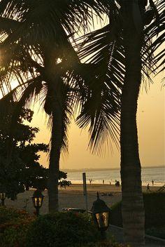 Qurm Beach at Sunset, Muscat, Oman