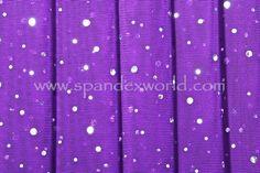 Glitter/Pattern Mesh (Purple/Silver Holo)