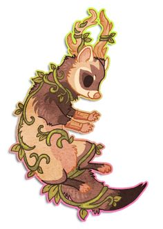 Chibi ferret by =griffsnuff on deviantART