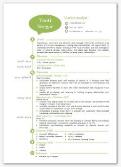 modern microsoft word resume template katie by inkpower on etsy just cute pinterest