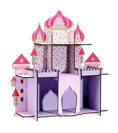 Djeco ~ Shelf ~ The Wonder of a Sultan's Wife Display Shelves, Wall Shelves, Persian Princess, Wooden Shelves, Kid Spaces, Kids Bedroom, Wooden Toys, Toddler Bed, Nursery
