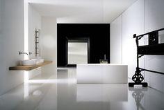 We will show you 20 examples of modern bathroom interior with modern vanity design - make your bathroom modern, elegant and natural. Grey Modern Bathrooms, Grey Bathrooms Designs, Small Bathroom Interior, Modern Bathroom Tile, Luxury Master Bathrooms, Contemporary Bathroom Designs, Big Bathrooms, Simple Bathroom, Beautiful Bathrooms