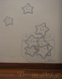 Αστεράκια στο βρεφικό δωμάτιο