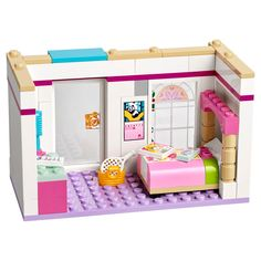 LEGO Friends Stephanie's House 41314 Build and Play Toy House with Mini Dolls, Dollhouse Kit - Calico Critters - Building Blocks Toys, Lego Building, Model Building, Legos, Bloc Lego, Reborn Dolls Silicone, Lego Friends Sets, Lego Furniture, Lego Creative