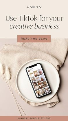 Ready to learn more about how to use TikTok for business? I'm breaking down helpful video prompt ideas for brand and web designers, photographers and small shops and makers to help you get started! | how to use tik tok, how to use tik tok for business, tiktok videos, tiktok aesthetic #tiktok #videos