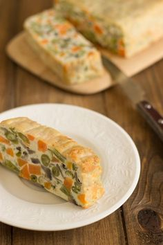 Pastel de verduras al horno