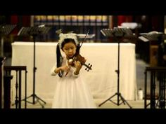 The Parish Church of St John the Baptist Christmas Concert 7 years old Leia Zhu plays on her 1/4 sized violin, Beriot concerto No.9 1st mvm and Paganini Sonata in A Major—See more of this young violinist #from_zhutek