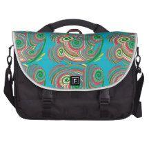 Twister, digital art design bags for laptop